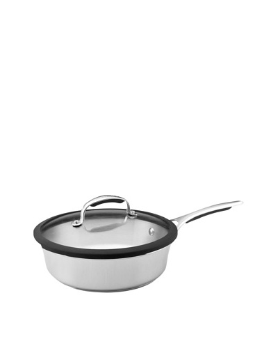 KitchenAid Gourmet Stainless Steel 3-Qt. Covered Saute Pan