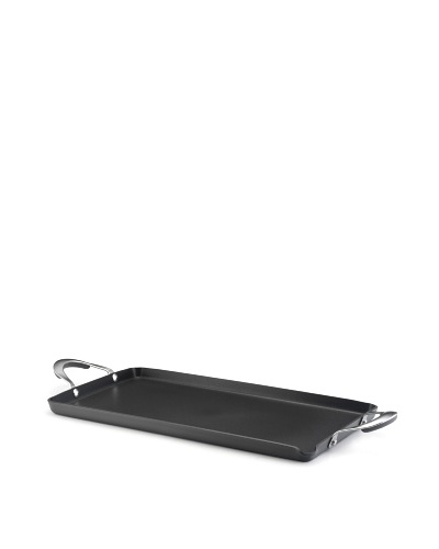 "KitchenAid Gourmet Hard Anodized Nonstick 18"" x 10"" Double Burner Griddle"