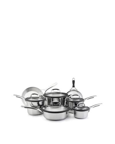 KitchenAid Gourmet Stainless Steel 12-Piece Cookware Set