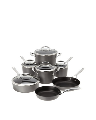 KitchenAid Gourmet Hard Anodized Nonstick 12-Piece Cookware Set