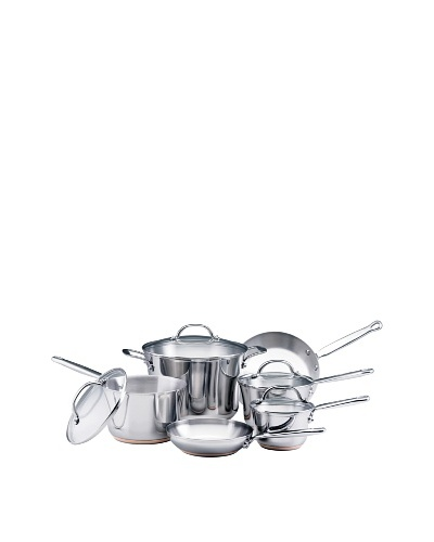 KitchenAid Distinctions Stainless Steel 10-Piece Cookware Set