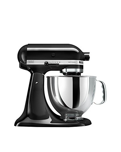 KitchenAid Artisan 5-Qt. Series Stand Mixer W/Pouring Shield, Onyx Black