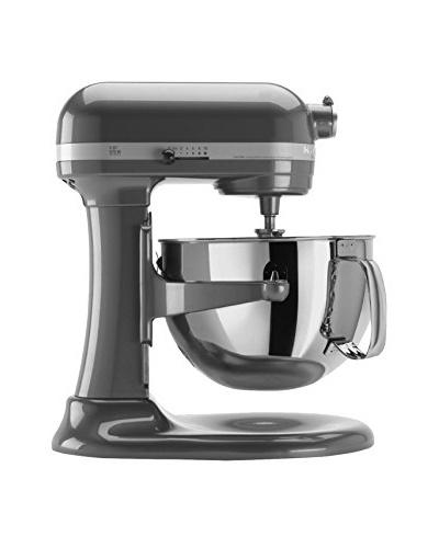 KitchenAid Professional 600™ Series 6-Qt. Bowl-Lift Stand Mixer W/Pouring Shield, Pearl Metallic