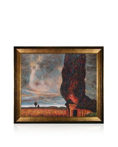 Gustav Klimt High Poplar Framed Oil Painting