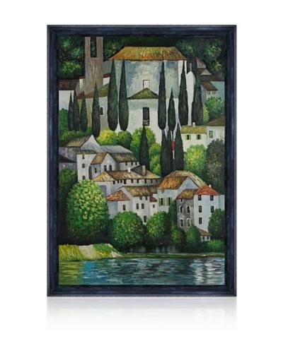 Gustav Klimt Church In Cassone Framed Oil Painting
