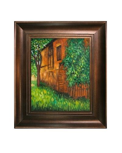 Gustav Klimt Farmhouse at Kammer Framed Oil Painting