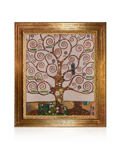 Gustav Klimt Tree of Life Painting Framed Oil Painting