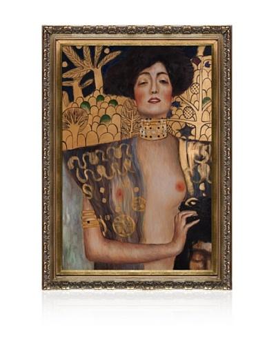 Gustav Klimt Judith Klimt I Framed Oil Painting