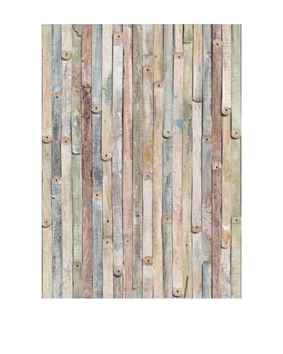 Vintage Wood Wall MuralAs You See