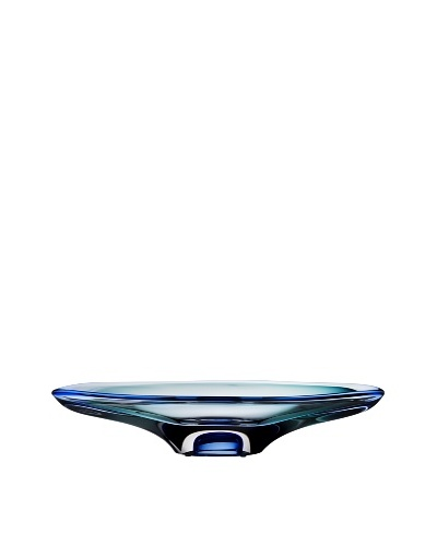 Kosta Boda Vision Dish, Blue, 13.75