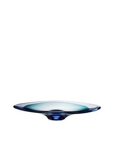 Kosta Boda Vision Dish, Blue, 19.5