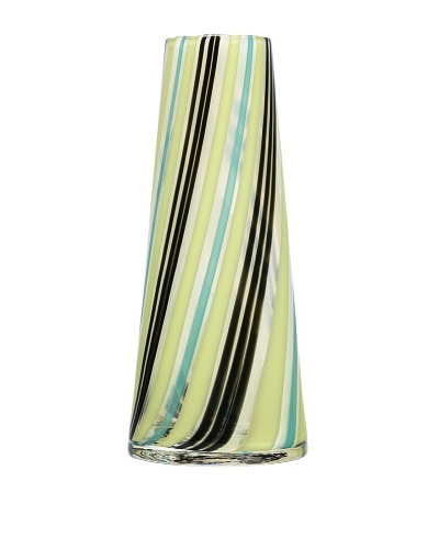 Kosta Boda Cabana Vase, Green