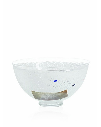 Kosta Boda Satellite Bowl White