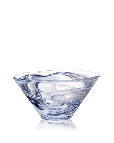 Kosta Boda Large Tempera Bowl, White