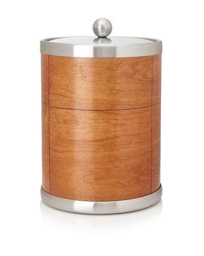 Kraftware American Artisan Wood Ice Bucket, Cherry, 5-Qt.