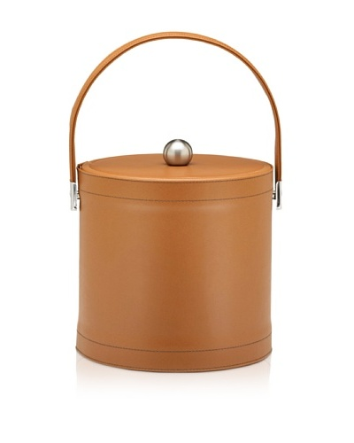 Kraftware Stitched Ice Bucket [Saddle]