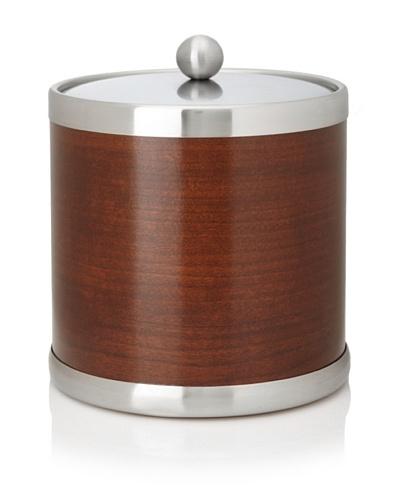 Kraftware American Artisan Wood Ice Bucket, Walnut, 3-Qt.