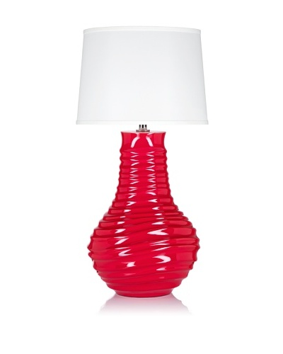 Krush Flutter Table Lamp, Paprika