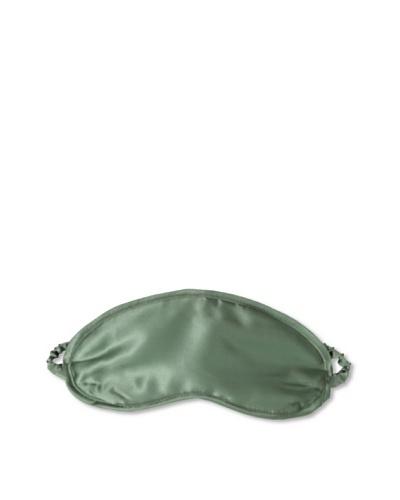 Kumi Kokoon Silk-Filled Eyemask, Moss, One Size