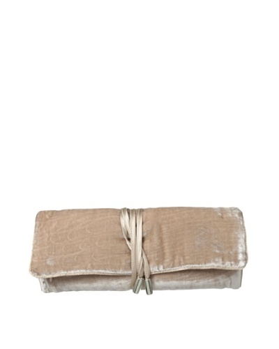 Kumi Kokoon Large Velvet Jewelry Roll