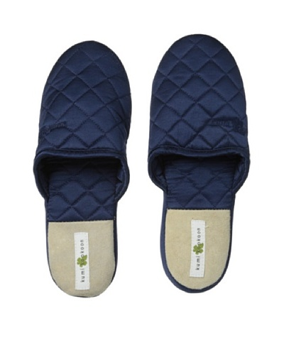 Kumi Kokoon Quilted Silk Slippers