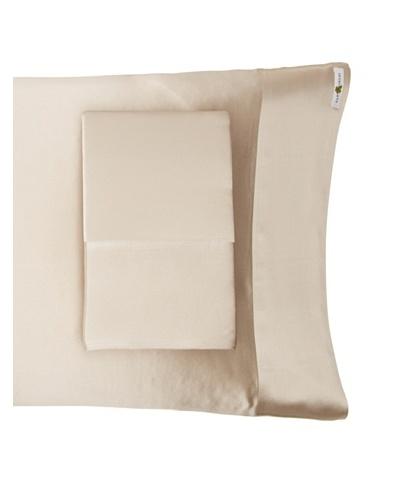 Kumi Kookoon Set of 2 Silk Pillowcases, Smoke, 20 x 32