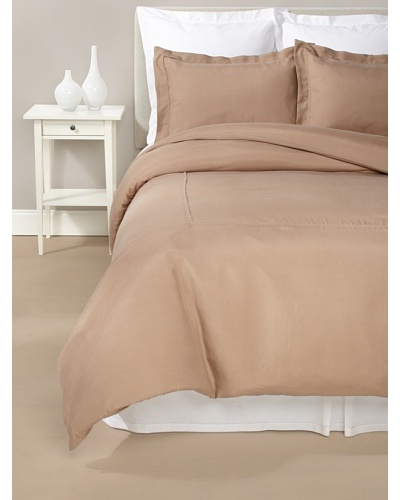 Kumi Basics by Kumi Kookoon Silk Duvet Cover Set [Chestnut]