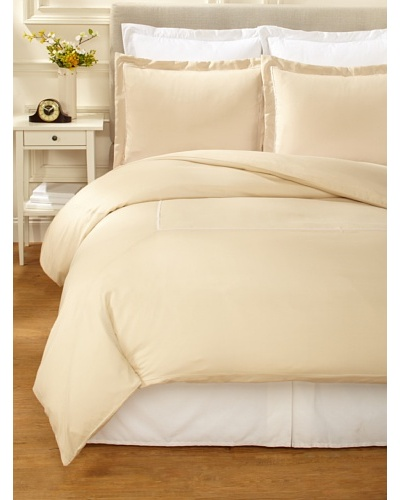 Kumi Kookoon Two Tone Duvet Set [Ivory/Powder Puff]