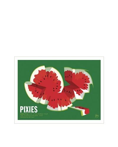 La La Land Pixies at The Louisville Palace 2011 Fluorescent Lithographed Concert Poster