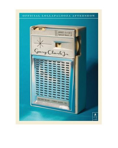 "La La Land ""Gary Clark Jr. at 2012 Lollapalooza Aftershow"" Lithographed Concert Poster"