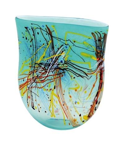 La Meridian Hand Blown Glass Vessel