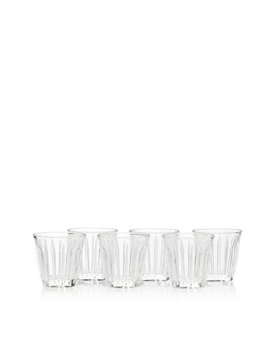 La Rochère Set of 6 Zinc Traditional Northern Africa 3.5-Oz. Espresso Cups
