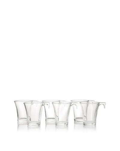 La Rochère Set of 6 Arum Décor 8.5-Oz. Mugs