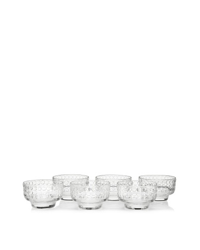 La Rochère Set of 6 Rondo Ice Cream Coupes, Clear, 11.5-Oz.
