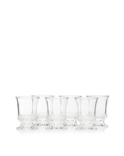 La Rochère Set of 6 Richelieu Décor 6-Oz. Goblets