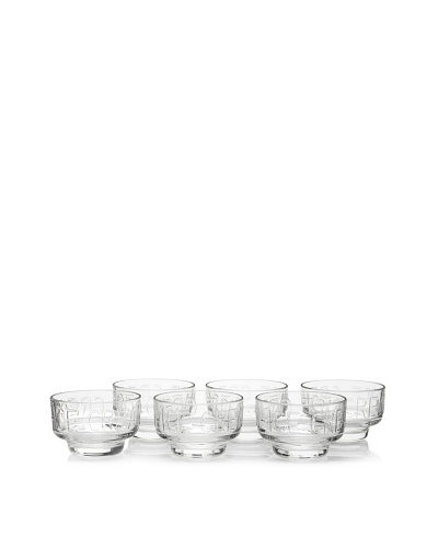 La Rochère Set of 6 Boston Ice Cream Coupes, Clear, 11.5-Oz.As You See