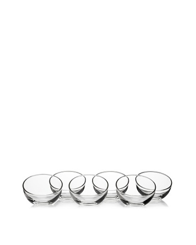 La Rochère Set Of 6 Bubble Ice Cream Coupes, Clear, 5-Oz.