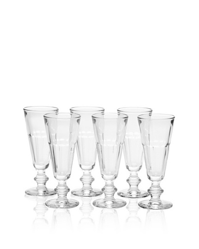 La Rochère Set of 6 Perigord Champagne Flutes, ClearAs You See