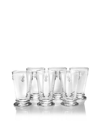 La Rochère Set of 6 Bee Décor 11.5-Oz. Glasses