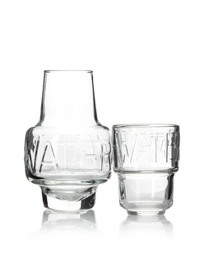 La Rochère Water Night Bottle Set, Clear