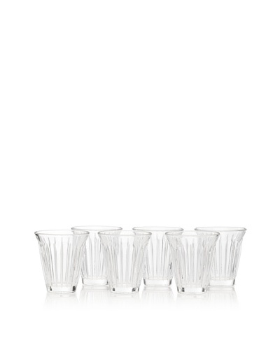 La Rochere Set of 6 Zinc Traditional Northern Africa Coffee Cups