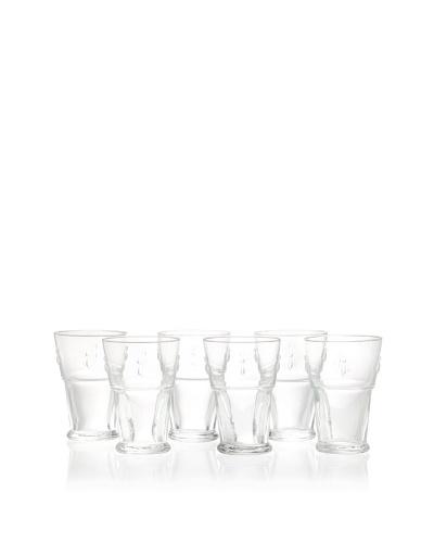 La Rochère Set of 6 Bee Décor Large Iced Tea Glasses