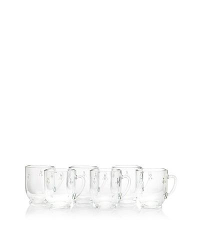 La Rochère Set of 6 Bee Décor Coffee Mugs