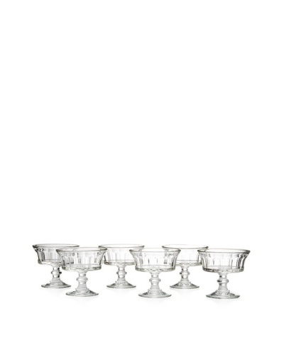 La Rochère Set of 6 Perigord 7.4-Oz. Ice Cream Coupes