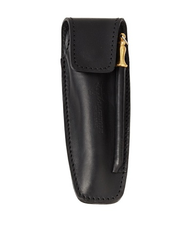 Laguiole en Aubrac Leather Pouch For Folding Knife With Sharpener
