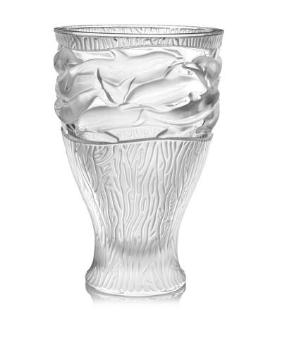 Lalique Oceania Vase