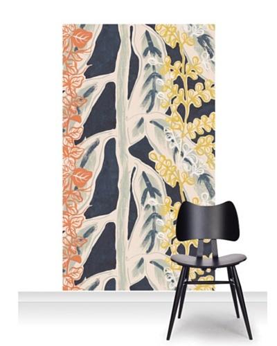 Lana Mackinnon Leaves Mural [Accent]