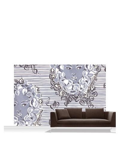 Lana Mackinnon Ivy Faces Mural, Standard, 12' x 8'