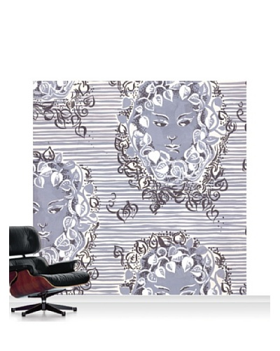 Lana Mackinnon Ivy Faces Mural, Standard, 8' x 8'