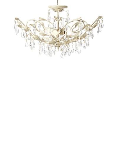 Laura Ashley Lavenham 3-Light Ceiling Light, Gilded Patina